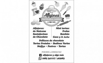 ALFAJORES Y ALGO MAS
